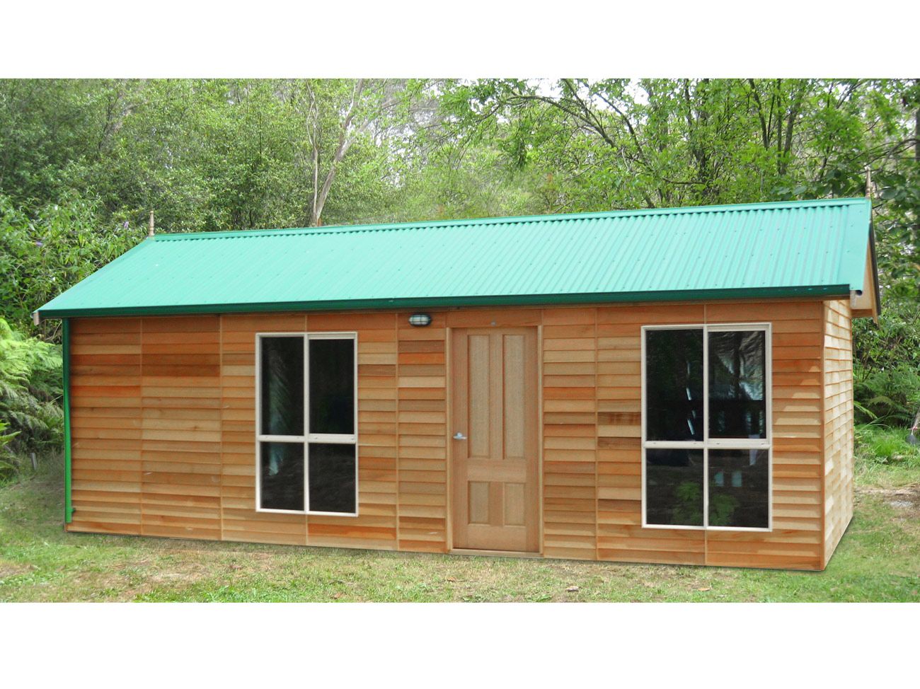 Snowy river cabin 7 2mx3 8m 11 landera for Backyard cabins granny flats