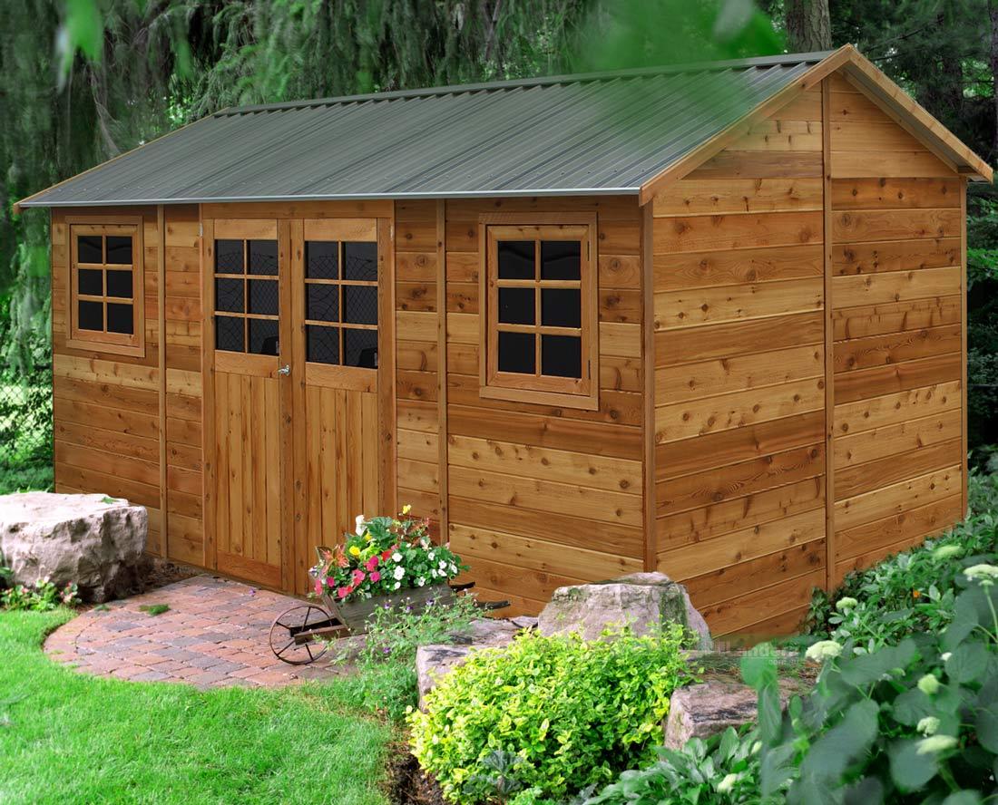 cedar shed hollydean 16x8ft 4 8mx2 5m 4