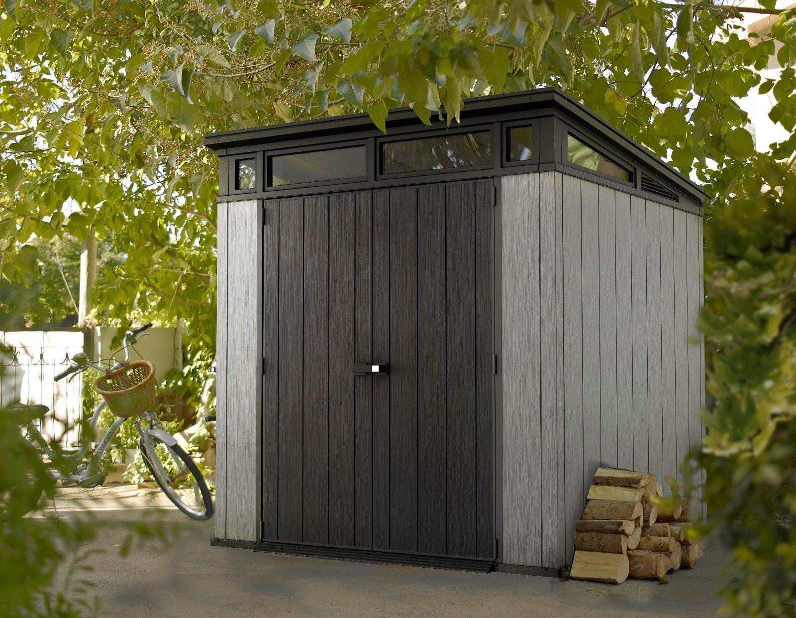keter artisan shed 7 39 x7 39 1 landera. Black Bedroom Furniture Sets. Home Design Ideas