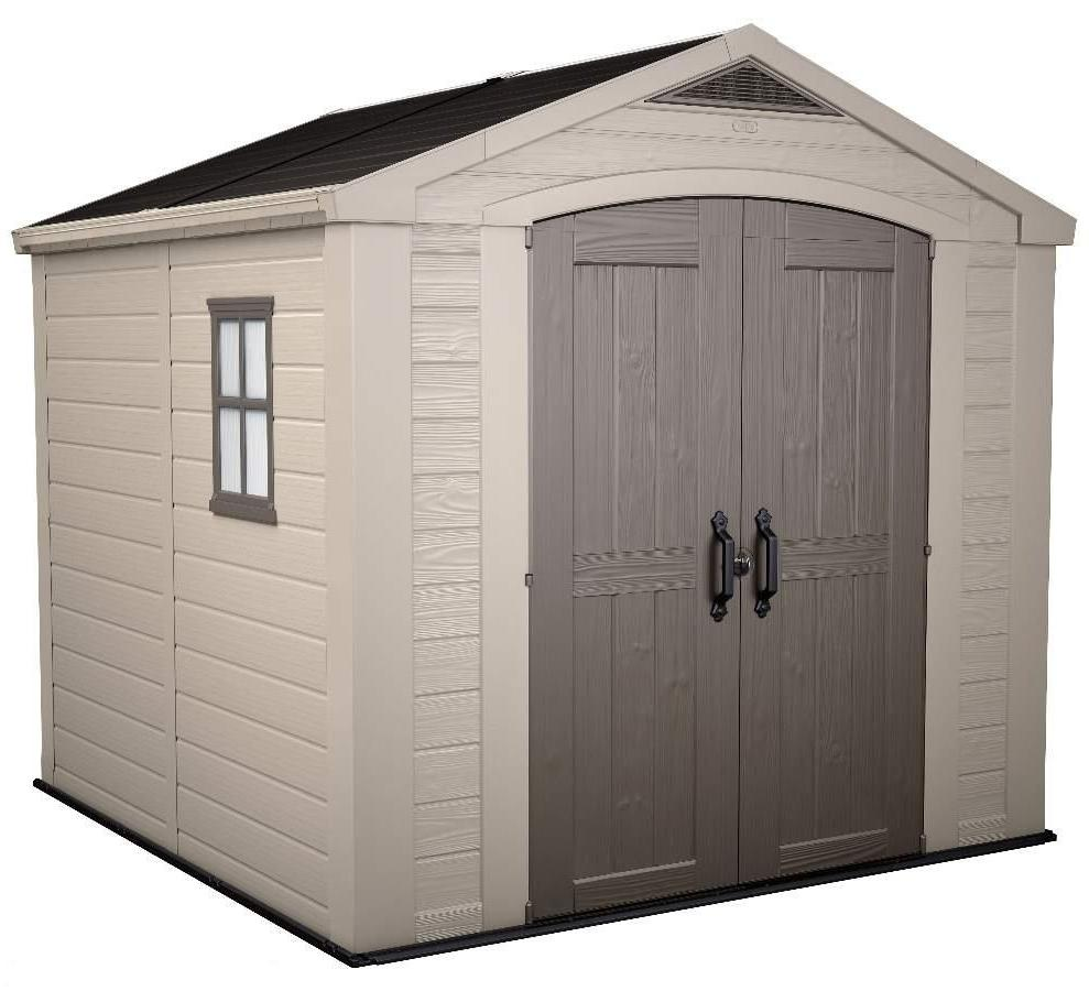 Keter factor 8 x 8 shed