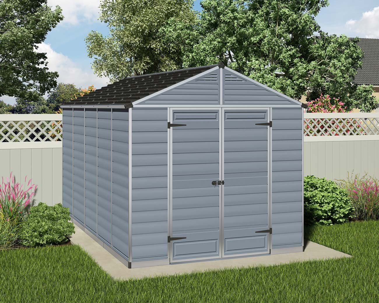 Reviews maze skylight 8x12 garden shed 1 999 for Garden shed 2 x 2