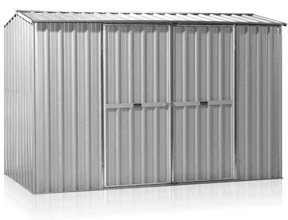 SHED2GO Quickstore 3.02 x 1.53m Zinc Shed