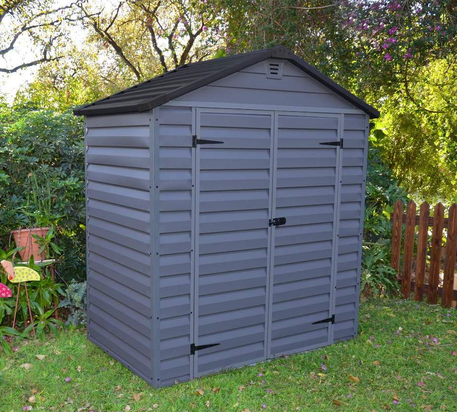 Palram skylight 6 x 3 garden shed pas 63 for Outdoor garden shed