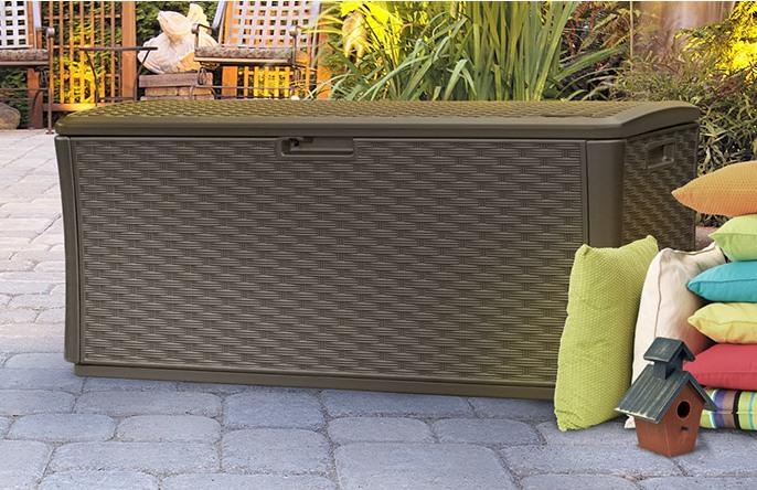 Extra large outdoor storage bins amazon