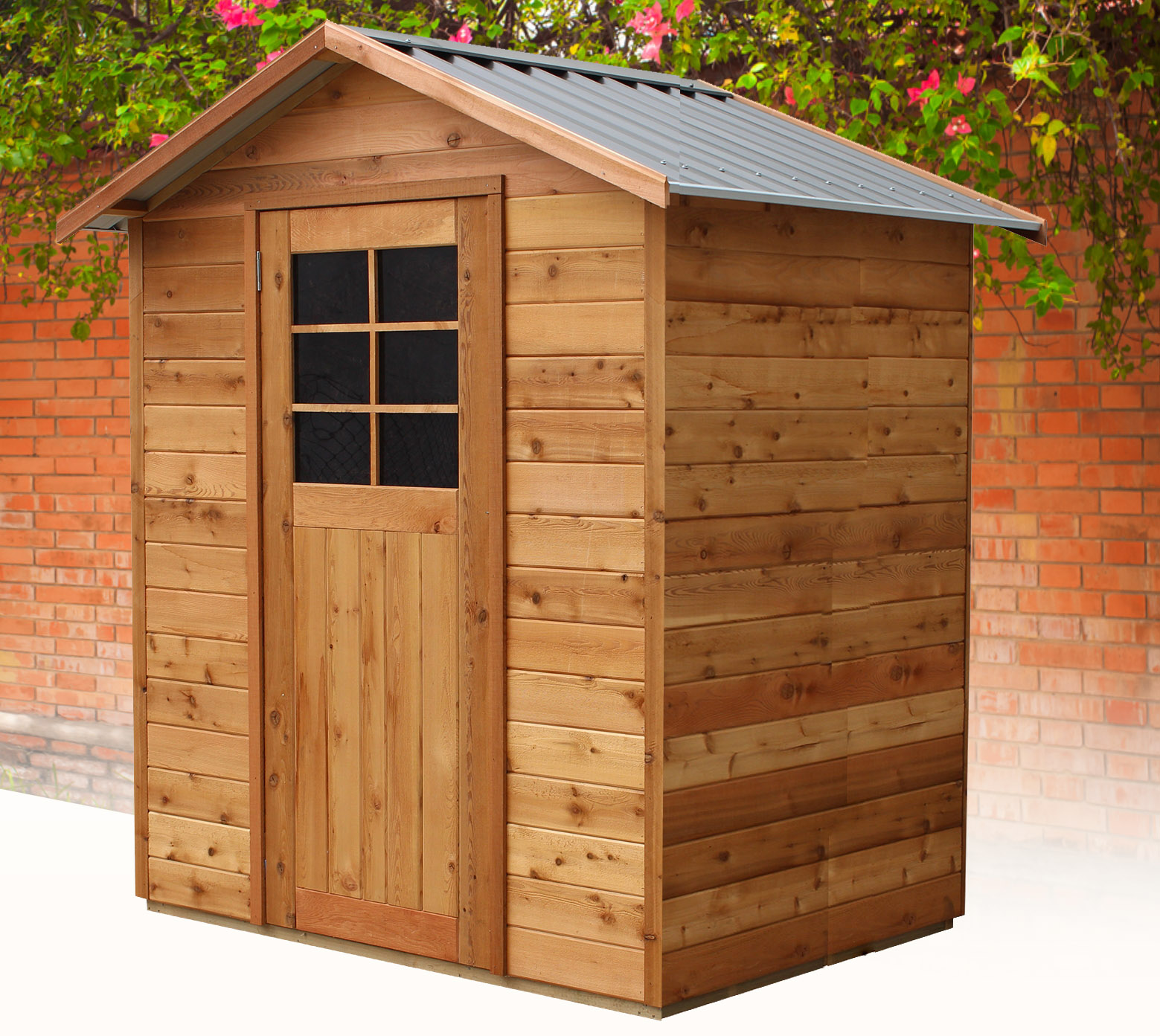 Cedar Shed Richmond 6x4 S3005 1 Landera