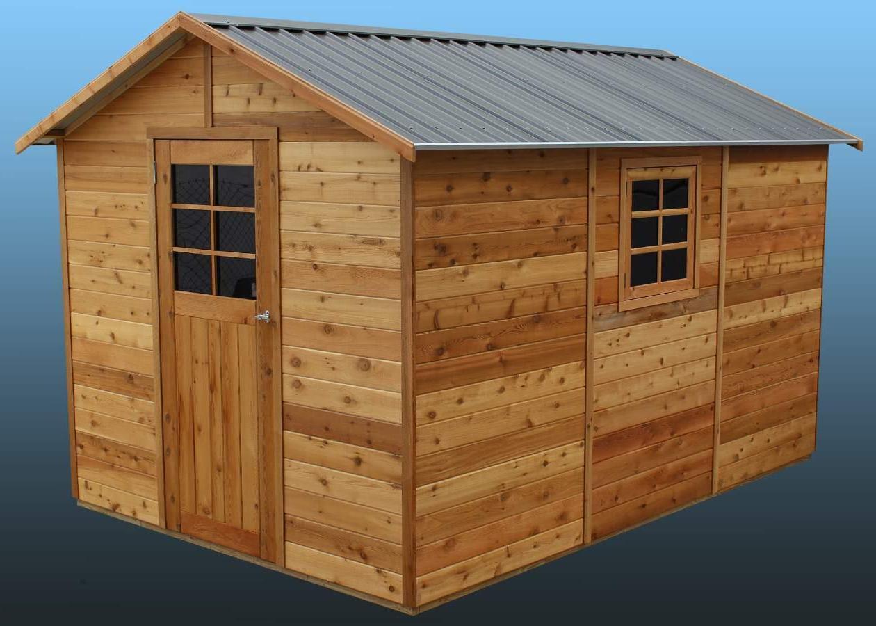 cedar shed master shed 8x12 s3041 2 landera