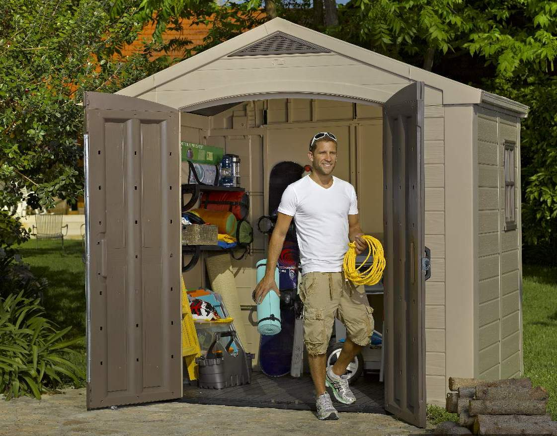 Keter 6 x 8 storage shed