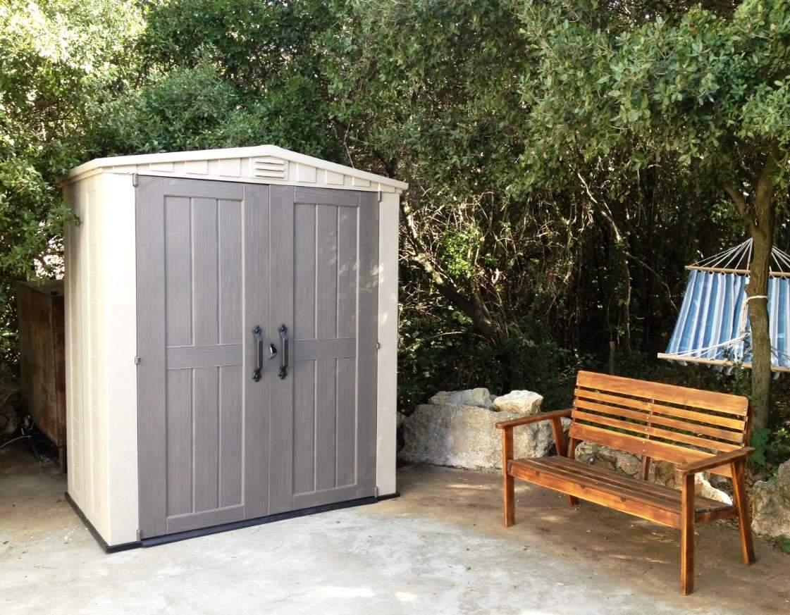 keter factor 6 x 3 shed ofc63 landera. Black Bedroom Furniture Sets. Home Design Ideas