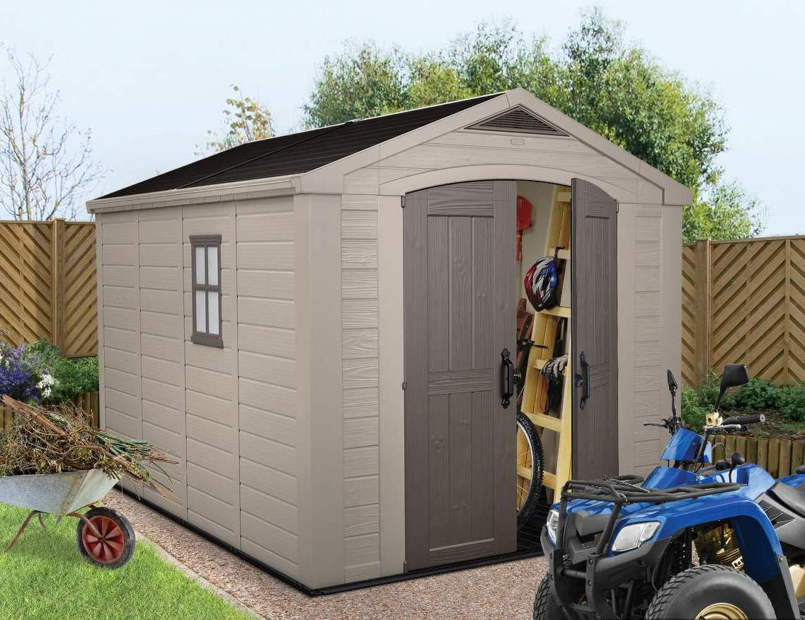 Keter Factor 8 X 11 Shed Ofc811 2 539 00 Landera