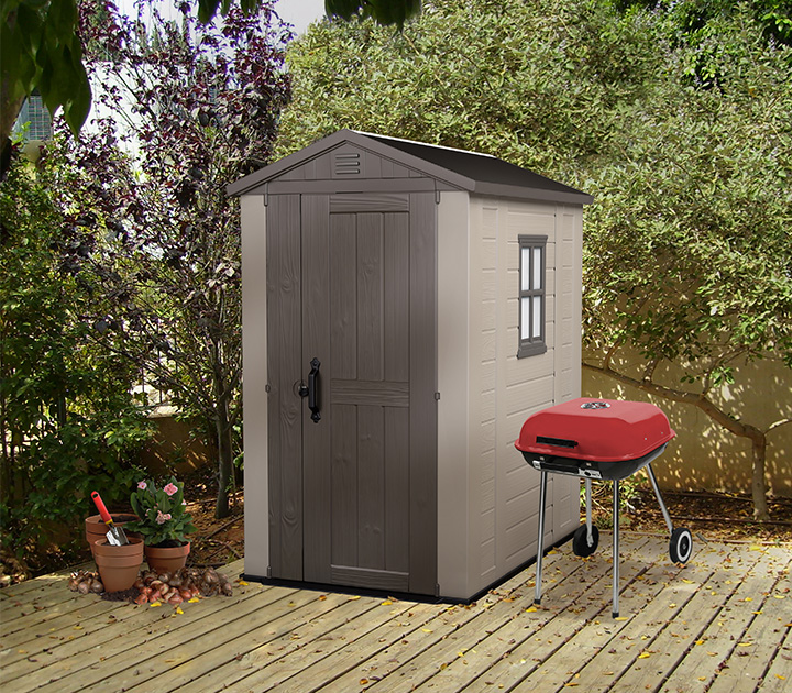 Keter Factor 4 X 6 Shed Ofc46 895 00 Landera
