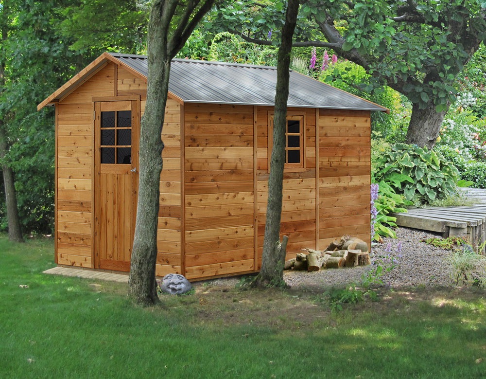 Cedar Shed Master Shed 8x12ft 2 5mx3 6m 2 979 90