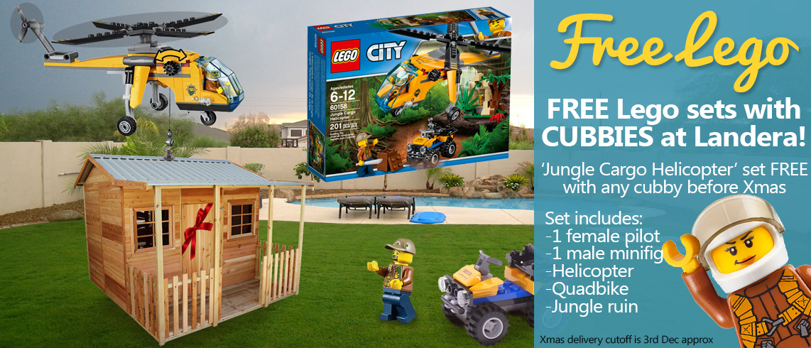 Free Lego with our CUBBIES!