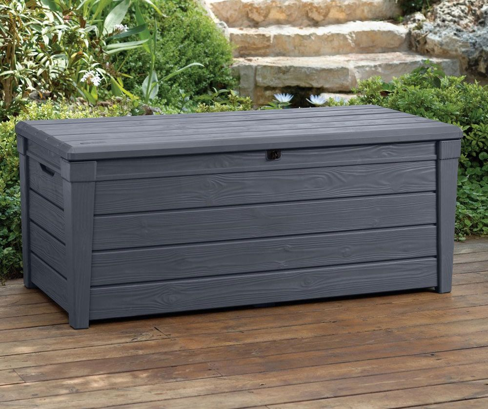 Keter Brightwood Deck Box Grey