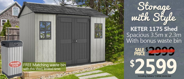 1175 shed promotion