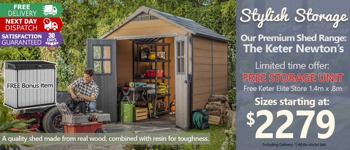 Keter-Newton-shed-with-free-Elite-Store