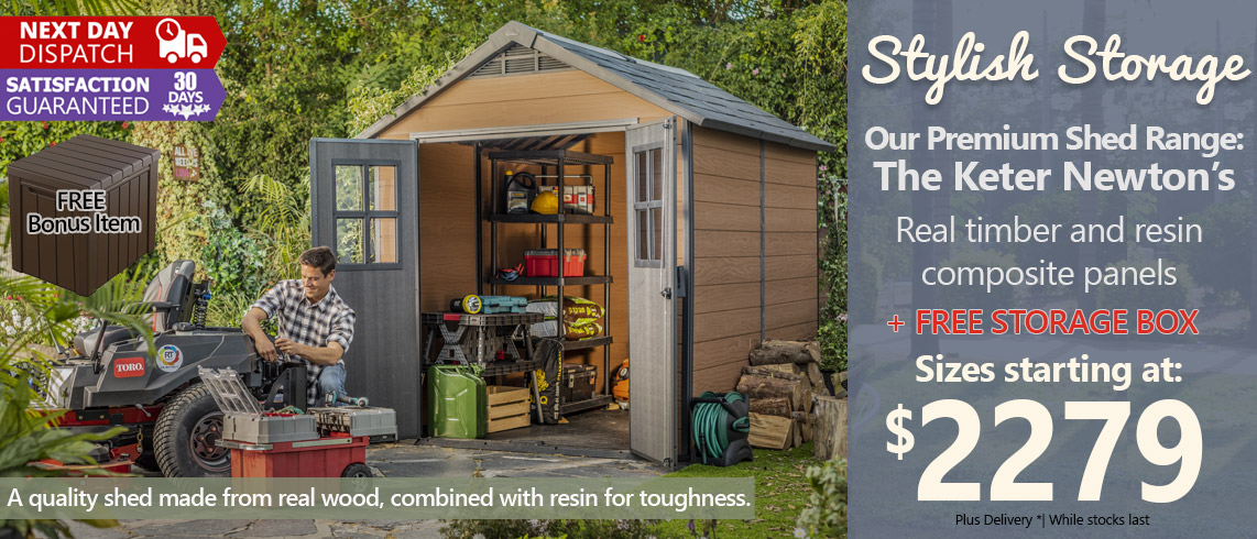 Newton-shed