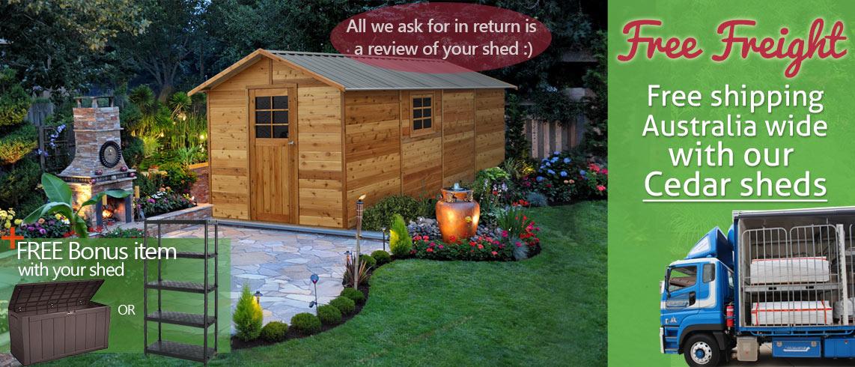 cedar-sheds-free-freight+bonus