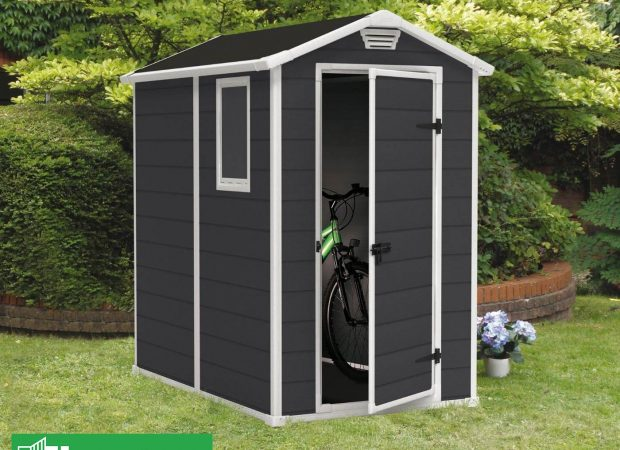 KETER MANOR 4'x6' GARDEN SHED