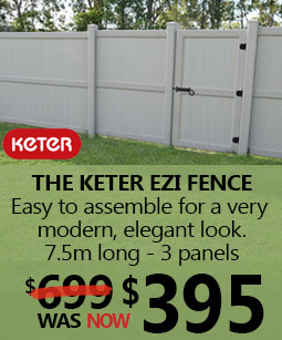 Keter Ezi fence on sale