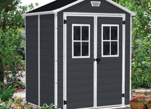 keter manor 6 39 x5 39 garden shed. Black Bedroom Furniture Sets. Home Design Ideas