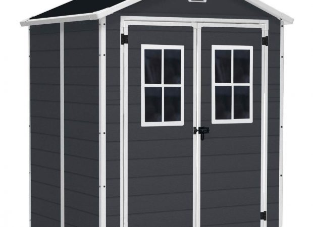 KETER MANOR 6'x5' GARDEN SHED