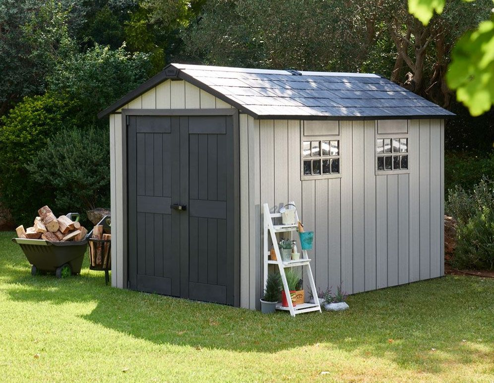 Keter Oakland 7511 Shed 7 5 X11 2 3mx3 5m