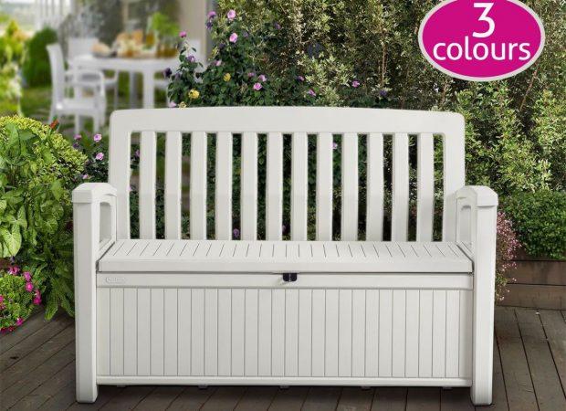 Prime Keter Patio Storage Bench Dailytribune Chair Design For Home Dailytribuneorg