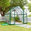 GREENLINE 8'X8′ GREENHOUSE 2.4mx2.4m