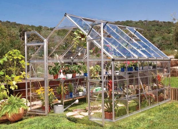 Silverline Maze 8 X12 Greenhouse 2 4mx3 6m